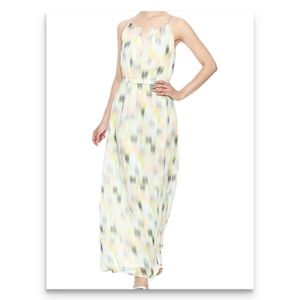 CUPCAKES AND CASHMERE Pastel Maxi Dress Sleeveless